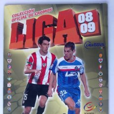 Coleccionismo deportivo: ALBUM CROMOS FUTBOL, LIGA 2008 - 2009, COLECCIONES ESTE, ( 67 CROMOS ). Lote 135644839