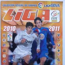 Coleccionismo deportivo: ALBUM CROMOS FUTBOL, LIGA 2010 - 2011, COLECCIONES ESTE, ( 113 CROMOS ). Lote 32679735