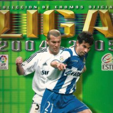 Coleccionismo deportivo: ALBUM PLANCHA VACIO. EDICIONES ESTE LIGA 2004-2005. NUEVO. Lote 32743460