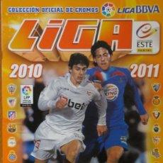 Coleccionismo deportivo: ALBUM LIGA 2010- 2011 FÚTBOL LIGA BBVA LFP EDICIONES ESTE PANINI. Lote 94507208