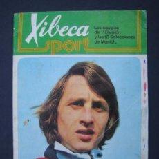 Coleccionismo deportivo: XIBECA SPORT - ALBUM EDITADO POR CERVEZAS DAMM - INCOMPLETO. Lote 32988492