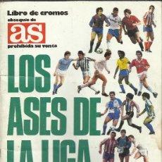 Coleccionismo deportivo: ALBUM, LOS ASES DE LA LIGA 87-88, INCOMPLETO, FALTAN 8 CROMOS. Lote 33001297