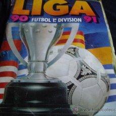 Coleccionismo deportivo: ALBUM EDICIONES DEL ESTE LIGA 90-91-SOLO LE FALTA 2 CROMOS. Lote 33053547