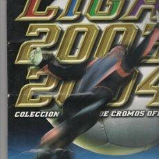 Coleccionismo deportivo: ÁLBUM FÚTBOL - LIGA 2003-2004 ( 457 CROMOS ) EDICIONES ESTE. Lote 33209190
