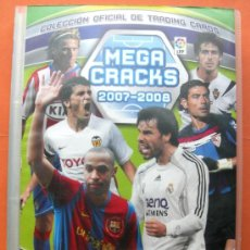 Coleccionismo deportivo: MEGA CRAKS 2007 2008. PANINI (CONTIENE 409 FICHAS). Lote 33299961