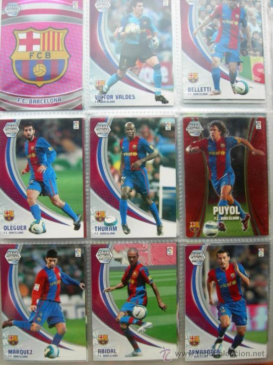Coleccionismo deportivo: MEGA CRAKS 2007 2008. PANINI (CONTIENE 409 FICHAS) - Foto 3 - 33299961