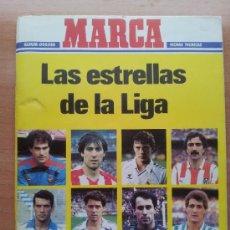 Coleccionismo deportivo: ALBUM VACIO LAS ESTRELLAS DE LA LIGA 86 87 - MARCA FICHAS TECNICAS 1986 - 1987- . Lote 33307057