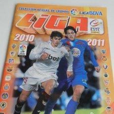 Coleccionismo deportivo: ALBUM CON 300 CROMOS. LIGA BBVA 2010- 2011 COLECCIONES ESTE.PANINI. Lote 33404538
