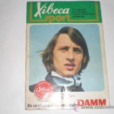 Coleccionismo deportivo: XIBECA SPORT - CERVEZAS DAMM 1974 FALTA 104 CROMOS. Lote 33471561