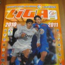 Coleccionismo deportivo: ALBUM PANINI TEMPORADA 10 11 (2010-2011) ESTE + MERCADO DE INVIERNO + AMPLIACION. Lote 33528521