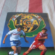 Coleccionismo deportivo: ALBUM CROMOS FUTBOL LIGA ESPAÑOLA TEMPORADA 96 97. Lote 33547630