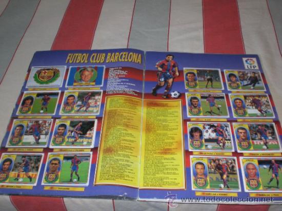 Coleccionismo deportivo: ALBUM CROMOS FUTBOL LIGA ESPAÑOLA TEMPORADA 96 97 - Foto 28 - 33547630