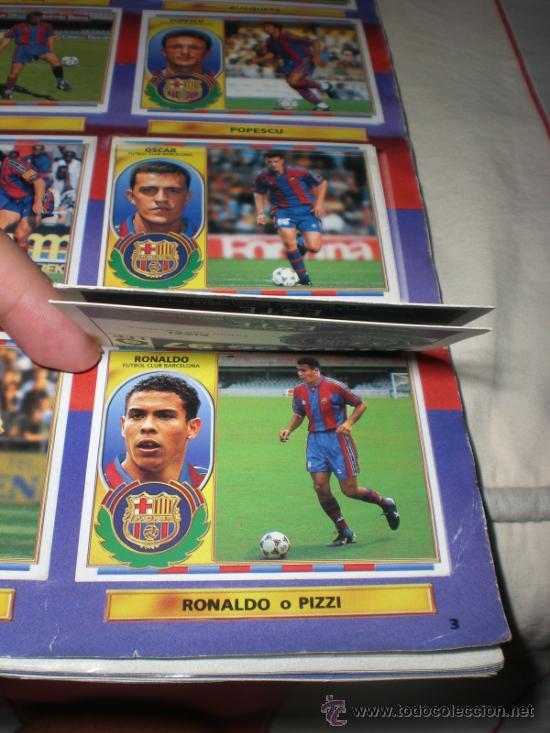 Coleccionismo deportivo: ALBUM CROMOS FUTBOL LIGA ESPAÑOLA TEMPORADA 96 97 - Foto 27 - 33547630