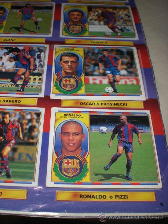 Coleccionismo deportivo: ALBUM CROMOS FUTBOL LIGA ESPAÑOLA TEMPORADA 96 97 - Foto 26 - 33547630