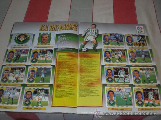 Coleccionismo deportivo: ALBUM CROMOS FUTBOL LIGA ESPAÑOLA TEMPORADA 96 97 - Foto 25 - 33547630