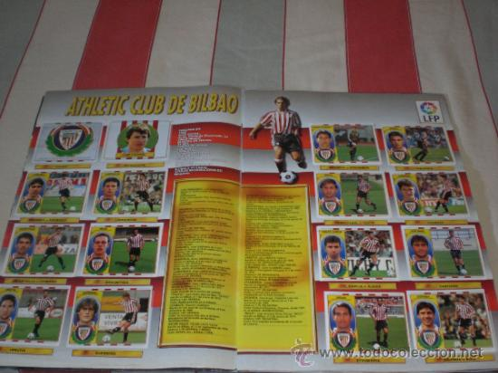 Coleccionismo deportivo: ALBUM CROMOS FUTBOL LIGA ESPAÑOLA TEMPORADA 96 97 - Foto 24 - 33547630