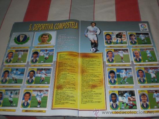 Coleccionismo deportivo: ALBUM CROMOS FUTBOL LIGA ESPAÑOLA TEMPORADA 96 97 - Foto 22 - 33547630