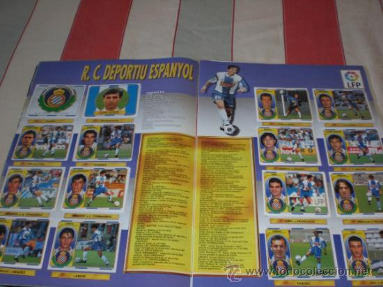 Coleccionismo deportivo: ALBUM CROMOS FUTBOL LIGA ESPAÑOLA TEMPORADA 96 97 - Foto 20 - 33547630