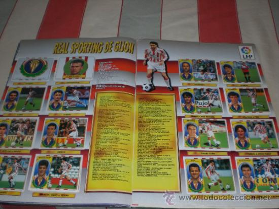Coleccionismo deportivo: ALBUM CROMOS FUTBOL LIGA ESPAÑOLA TEMPORADA 96 97 - Foto 18 - 33547630