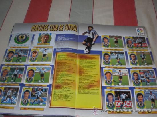 Coleccionismo deportivo: ALBUM CROMOS FUTBOL LIGA ESPAÑOLA TEMPORADA 96 97 - Foto 17 - 33547630