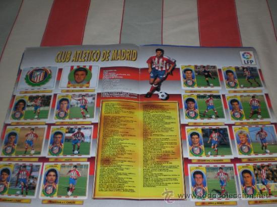Coleccionismo deportivo: ALBUM CROMOS FUTBOL LIGA ESPAÑOLA TEMPORADA 96 97 - Foto 15 - 33547630
