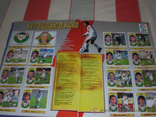 Coleccionismo deportivo: ALBUM CROMOS FUTBOL LIGA ESPAÑOLA TEMPORADA 96 97 - Foto 12 - 33547630