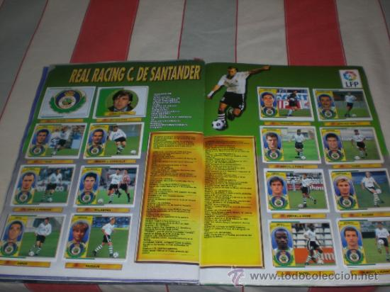 Coleccionismo deportivo: ALBUM CROMOS FUTBOL LIGA ESPAÑOLA TEMPORADA 96 97 - Foto 11 - 33547630