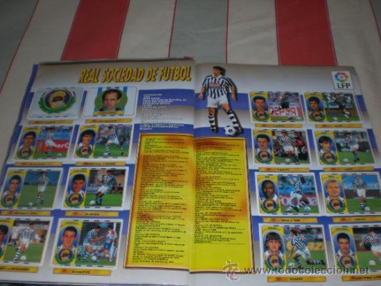 Coleccionismo deportivo: ALBUM CROMOS FUTBOL LIGA ESPAÑOLA TEMPORADA 96 97 - Foto 9 - 33547630