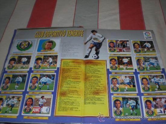 Coleccionismo deportivo: ALBUM CROMOS FUTBOL LIGA ESPAÑOLA TEMPORADA 96 97 - Foto 8 - 33547630