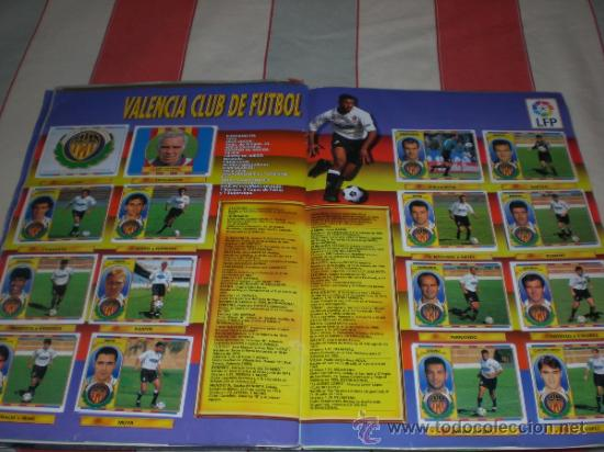 Coleccionismo deportivo: ALBUM CROMOS FUTBOL LIGA ESPAÑOLA TEMPORADA 96 97 - Foto 7 - 33547630