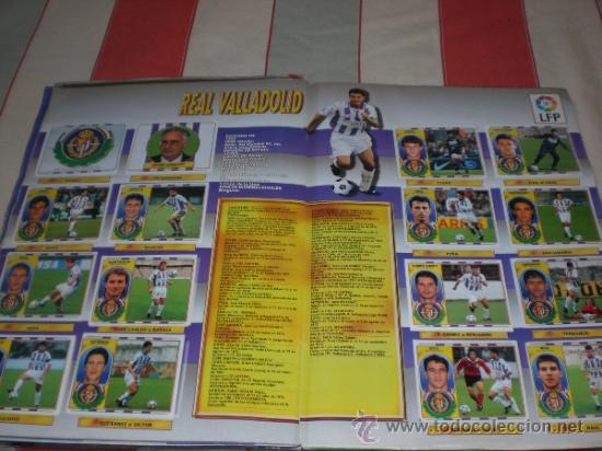 Coleccionismo deportivo: ALBUM CROMOS FUTBOL LIGA ESPAÑOLA TEMPORADA 96 97 - Foto 6 - 33547630