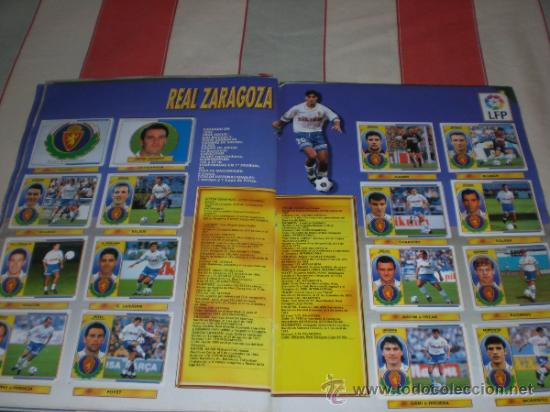 Coleccionismo deportivo: ALBUM CROMOS FUTBOL LIGA ESPAÑOLA TEMPORADA 96 97 - Foto 5 - 33547630