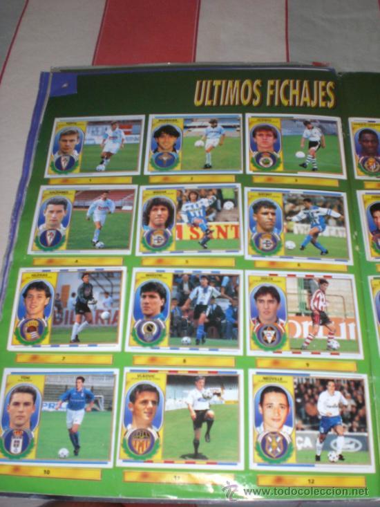 Coleccionismo deportivo: ALBUM CROMOS FUTBOL LIGA ESPAÑOLA TEMPORADA 96 97 - Foto 3 - 33547630