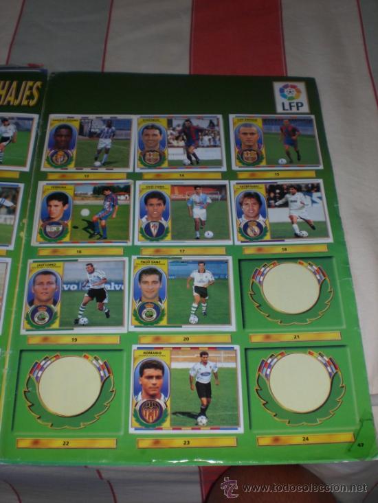 Coleccionismo deportivo: ALBUM CROMOS FUTBOL LIGA ESPAÑOLA TEMPORADA 96 97 - Foto 4 - 33547630