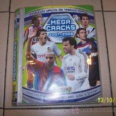Coleccionismo deportivo: ALBUM DE LA COLECCION OFICIAL DE TRADING CARDS MEGA CRACKS 2007/2008 CON 351 CROMOS . Lote 33671942