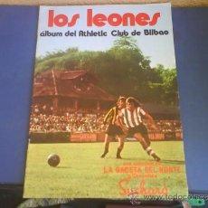 Coleccionismo deportivo: LOS LEONES ALBUM DEL ATHLETIC CLUB DE BILBAO 1973. Lote 33691277