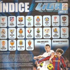 Coleccionismo deportivo: ALBUM LIGA 2011. Lote 33723967