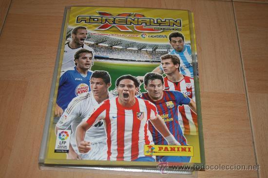 ÁLBUM ADRENALYN PANINI TEMPORADA 11-12 COMPLETO CON TODO (10 EDICIÓN ESPECIAL) (Coleccionismo Deportivo - Álbumes y Cromos de Deportes - Álbumes de Fútbol Incompletos)