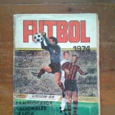 Coleccionismo deportivo: ÁLBUM INCOMPLETO CAMPEONATO NACIONAL DE FÚTBOL 1973-1974 73 74 RUIZ ROMERO. Lote 33945466