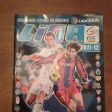 Coleccionismo deportivo: ALBUM VACIO LIGA ESTE 11 12. Lote 34833443