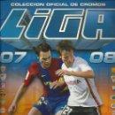 Coleccionismo deportivo: ALBUM DE FUTBOL LIGA 07/08,COLECCIONES ESTE, CON 520 CROMOS LO EQUIPOS ESTAN COMPLETOS. Lote 34114018