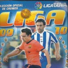 Coleccionismo deportivo: ALBUM DE FUTBOL LIGA 09/10,COLECCIONES ESTE, CON 497 CROMOS. Lote 34114133