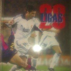 Coleccionismo deportivo: 23 LIGAS BLANCAS / LIBRO DE 192 PAGINAS DE ABC / NO SE INCLUYEN ADHESIVOS. Lote 34285508