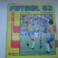 Coleccionismo deportivo: ALBUM DE FUTBOL 83 PANINI. Lote 34216322