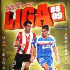 Coleccionismo deportivo: LIGA 2008/2009- COLECCIÓN LIGA BBVA. Lote 34236679