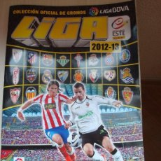 Coleccionismo deportivo: ALBUM LIGA FUTBOL 2012 2013 COLECCIONES ESTE PANINI. Lote 34257707