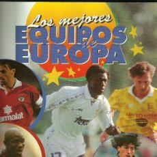 Coleccionismo deportivo: ÁLBUM LOS MEJORES EQUIPOS DE EUROPA (PANINI 1997). Lote 34269537