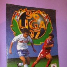 Coleccionismo deportivo: FUTBOL 1ª DIVISIÓN ALBUM INCOMPLETO DE LA LIGA 96 - 97. Lote 34188745