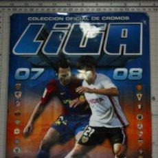 Coleccionismo deportivo: ALBUM DE FUTBOL LIGA 2007 -2008 EDICIONES ESTE. Lote 34395281