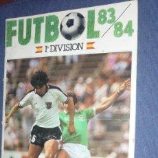 Coleccionismo deportivo: ALBUM FUTBOL 83 84 CROMOS CANO ALBUM CON MUCHOS CROMOS Y FICHAJES. Lote 34476324